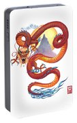 Chinese Red Dragon Portable Battery Charger