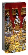 Chinese Religious Trinkets And Statues On Display In Xiamen Chin Portable Battery Charger