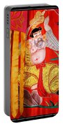 Chinese Tapestry Portable Battery Charger