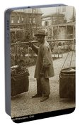 Chinese Vegtable Pedler In San Francisco Circa 1880 Portable Battery Charger