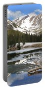Chinns Lake Reflections 3 Portable Battery Charger
