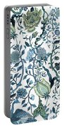 Chinoiserie Blue Portable Battery Charger