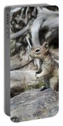 Chipmunk At Yellowstone Portable Battery Charger