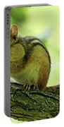 Chipmunk Cheeks Portable Battery Charger