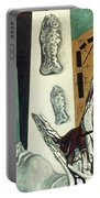 Chirico: Arch, 1914 Portable Battery Charger