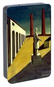 Chirico: Enigma, 1914 Portable Battery Charger