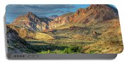 Chisos Mountains Of West Texas Portable Battery Charger