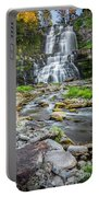Chittenango Falls In Autumn  Portable Battery Charger