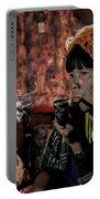 Cho Chin Woman Smoking  Portable Battery Charger