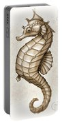 Chocolate Seahorse Portable Battery Charger