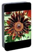 Chocolate Sunflower Portable Battery Charger