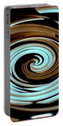 Chocolate Swirls Portable Battery Charger