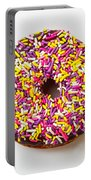 Cholocate Donut With Sprinkles Portable Battery Charger