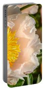 Chou Dynasty Yellow Peony Portable Battery Charger