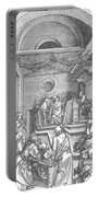 Christ Among The Doctors In The Temple 1503 Portable Battery Charger
