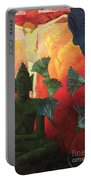Christ And Buddha Portable Battery Charger by Paul Ranson