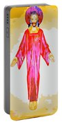 Christ And Crosses Portable Battery Charger