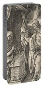 Christ Appearing To His Mother, From The Small Passion Portable Battery Charger