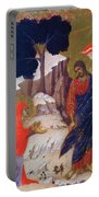 Christ Appearing To Mary 1311 Portable Battery Charger