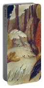 Christ Appearing To Mary Magdalene Fragment 1311 Portable Battery Charger