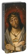 Christ As The Man Of Sorrows Portable Battery Charger