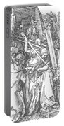Christ Bearing The Cross 1509 Portable Battery Charger