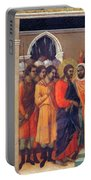 Christ Before Caiaphas 1311 Portable Battery Charger
