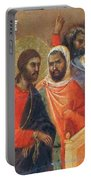 Christ Before Caiaphas Fragment 1311 Portable Battery Charger