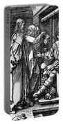 Christ Before Herod 1509 Portable Battery Charger