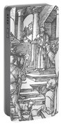 Christ Before Pilate 1511 Portable Battery Charger