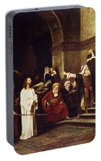 Christ Before Pilate Portable Battery Charger