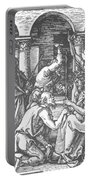 Christ Being Crowned With Thorns 1510 Portable Battery Charger