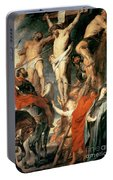 Christ Between The Two Thieves Portable Battery Charger