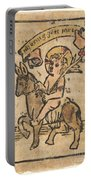 Christ Child On Donkey Portable Battery Charger
