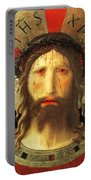 Christ Crowned With Thorns Portable Battery Charger