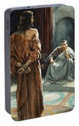 Christ In Front Of Pontius Pilate Portable Battery Charger