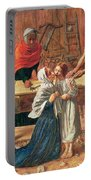 Christ In The House Of His Parents Portable Battery Charger