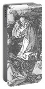 Christ On The Mount Of Olives 1511 Portable Battery Charger