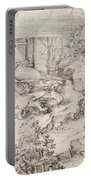 Christ On The Mount Of Olives 1521 Portable Battery Charger