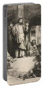 Christ Preaching (la Petite Tombe) Portable Battery Charger