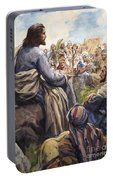 Christ Teaching Portable Battery Charger