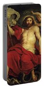 Christ Triumphant Over Sin And Death Portable Battery Charger