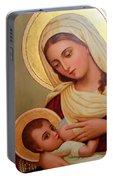 Christianity - Baby Jesus Portable Battery Charger