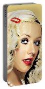 Christina Aguilera Portable Battery Charger