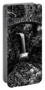 Christine Falls - Mount Rainer National Park - Bw Portable Battery Charger