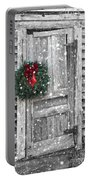 Christmas At The Farm Portable Battery Charger