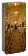 Christmas At The Mount Washington Hotel Portable Battery Charger