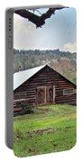 Christmas Barn Portable Battery Charger