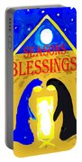 Christmas Blessings 5 Portable Battery Charger