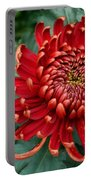 Christmas Chrysanthemum Portable Battery Charger